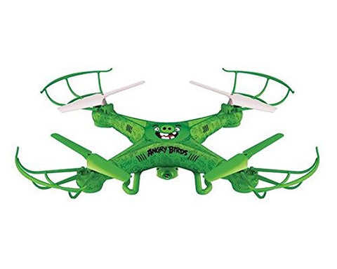 Angry Birds Licensed 4.5-Channel 2.4 GHz Remote Control Camera Drone Squak-Copter - The Pigs