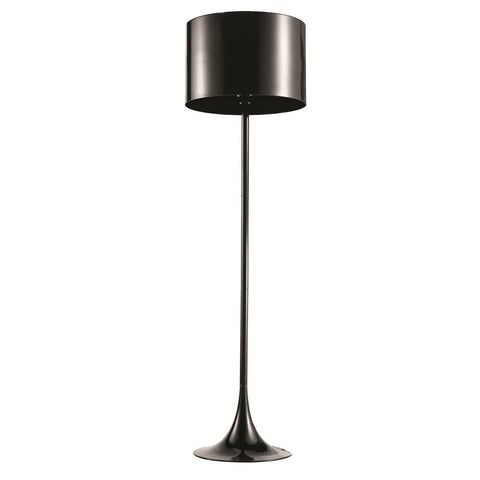 Fine Mod Imports FMI4001-black Tulip Floor Lamp, Black - Peazz.com - 1