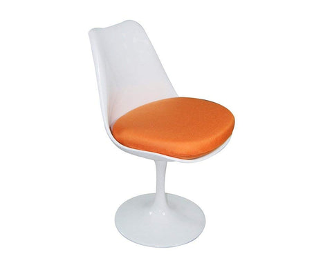 Mod Made MM-PC-08-ORANGE Lily Side Chair