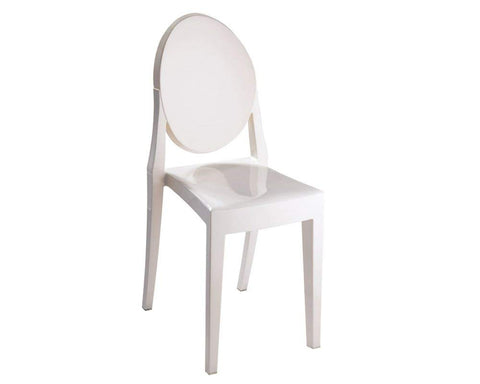 Mod Made MM-PC-089-IVORY Louie Armless Chair