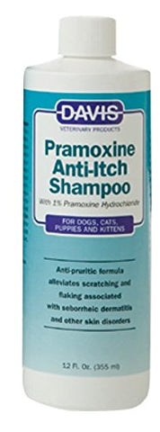Davis 18257 Davis Pramoxine AntiItch Shampoo, 12 oz - Peazz Pet
