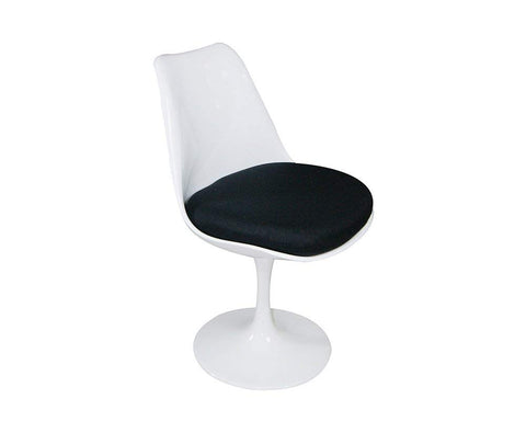 Mod Made MM-PC-08-BLACK Lily Side Chair