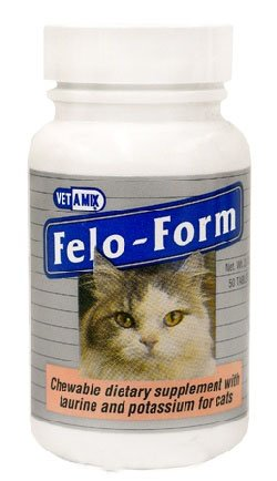 LLOYD 14115 FeloForm Cat Vitamins, 50 Chewable Tablets - Peazz Pet