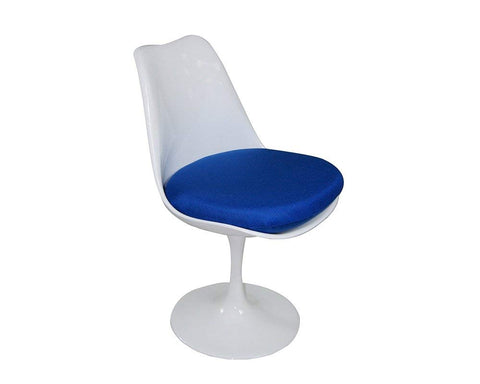 Mod Made MM-PC-08-BLUE Lily Side Chair