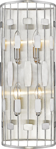 Z-Lite 430-4S-BN 4 Light Wall Sconce Almet Collection Clear Finish - ZLiteStore