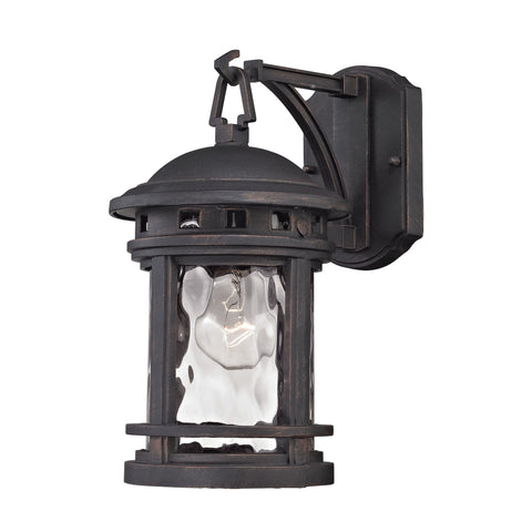ELK Lighting 45110/1 Costa Mesa Collection Weathered Charcoal Finish - PeazzLighting