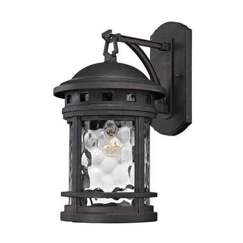 ELK Lighting 45111/1 Costa Mesa Collection Weathered Charcoal Finish - PeazzLighting