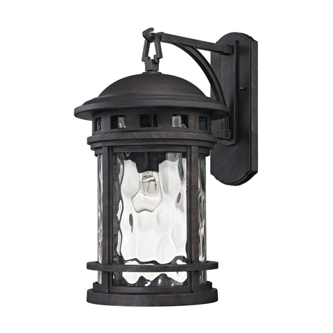 ELK Lighting 45112/1 Costa Mesa Collection Weathered Charcoal Finish - PeazzLighting