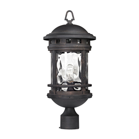 ELK Lighting 45114/1 Costa Mesa Collection Weathered Charcoal Finish - PeazzLighting