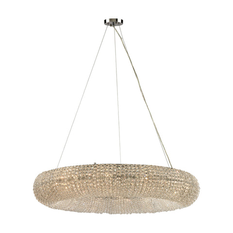ELK Lighting 45293/12 Crystal Ring Collection Polished Chrome Finish - PeazzLighting