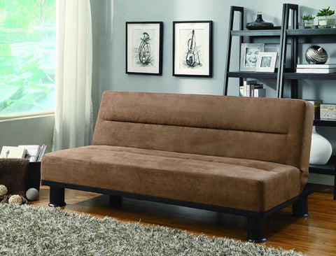 Homelegance 4823BR Callie Collection Color Brown Microfiber - Peazz.com - 1