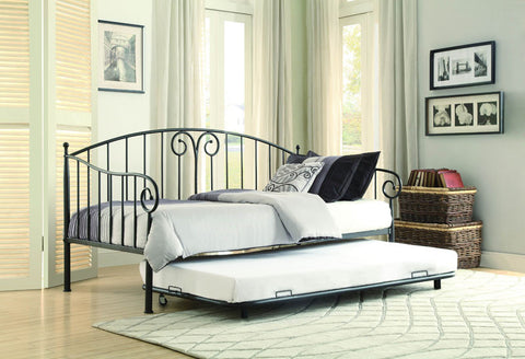 Homelegance 4960DB-NT Courtney Collection Color Black - Peazz.com - 1