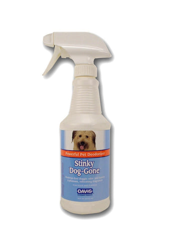 Davis Stinky Dog-Gone, 16 oz Spray - Peazz Pet