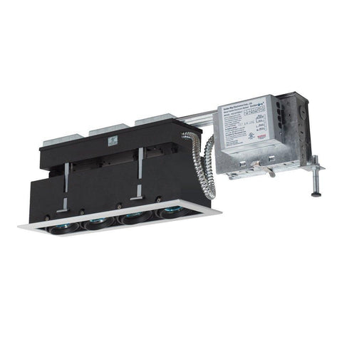 Jesco Lighting MMGRMH1639-4ESS 4-Light Linear Remodel (Metal Halide) Includes 120V Electronic Ballast