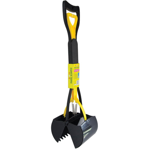 Scoochie Pet Products 376 Scoochie Dog Poopie Scooper, Yellow/Black