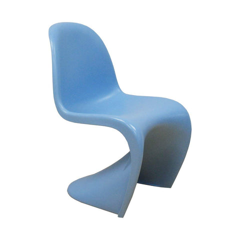 Mod Made MM-PC-011-BLUE S Shape Chair