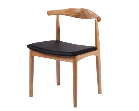Mod Made MM-WS-021-NATURAL Solid Wood Chair