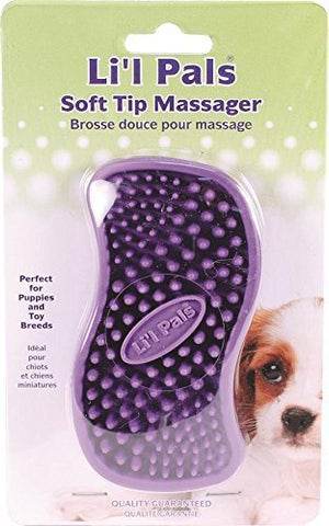 Coastal Pet Products W6221-NCL00 Lil'l Pals Dog Soft Tip Massager