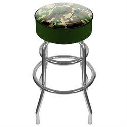 Adg Source Hunt1000-Camo Hunting Camo Padded Swivel Bar Stool