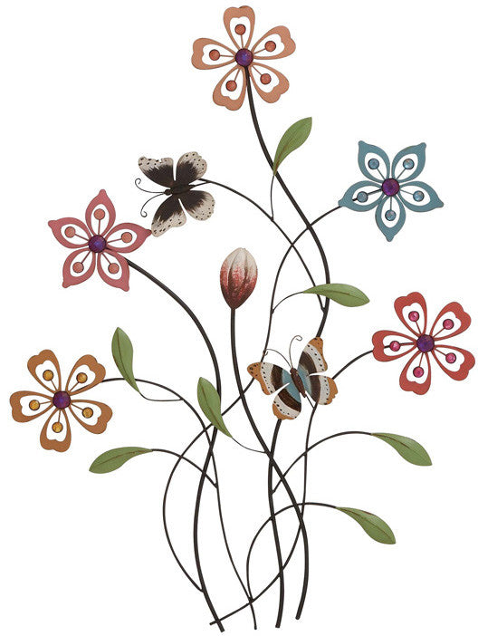 "Bayden Hill Metal Acrylic Wall Decor 20""W, 28""H"