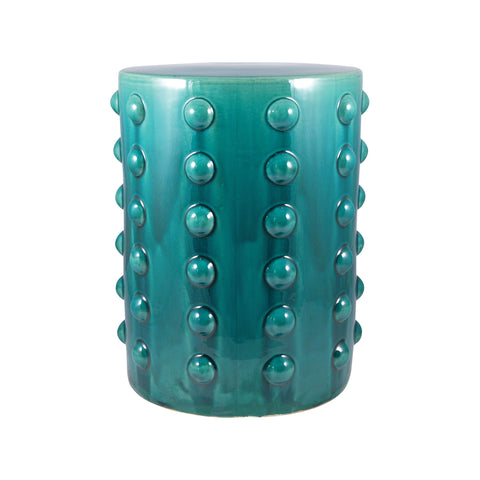 Pomeroy POM-551659 Aquatica Collection Aquamarine Finish Stool