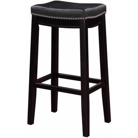 Linon 55816blk01u Claridge Black Bar Stool