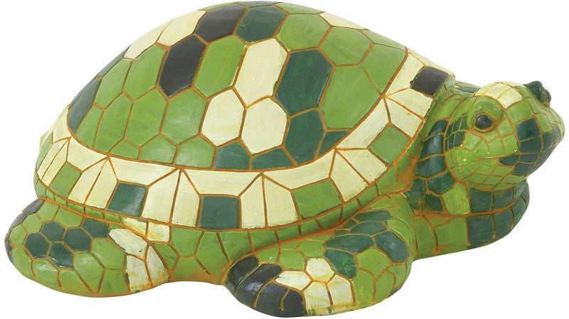 "Bayden Hill Ps Grn Turtle 21""W, 7""H"