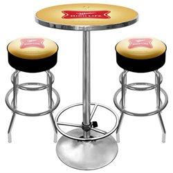 Mhl9800 Ultimate Miller High Life Pub Table And Stools Combo