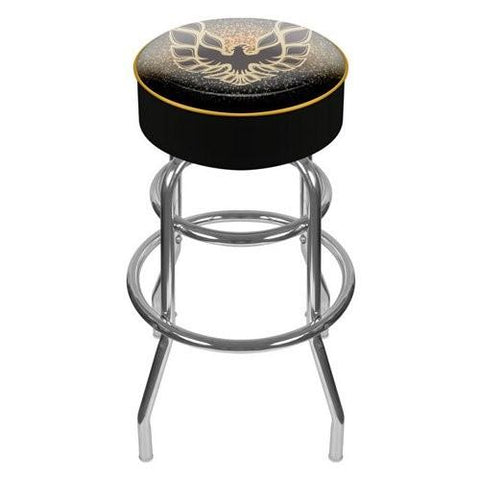"31"" Gm1000-Fb-Blk Pontiac Firebird Black Padded Swivel Bar Stool"
