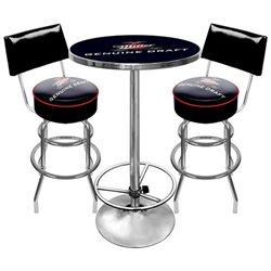 Mgd9900 Ultimate Miller Genuine Draft Pub Table And Stools With Back