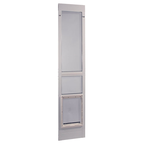 Ideal Modular Pet Patio Door White - X-Large (MODPATXLW) - Peazz Pet
