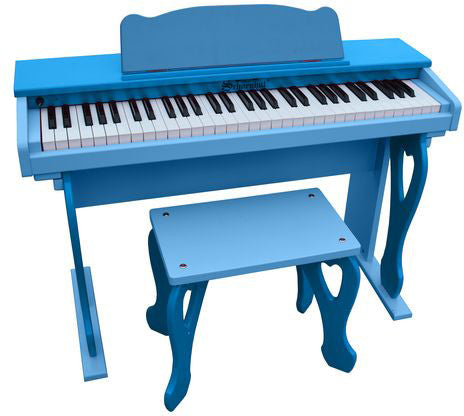 Schoenhut 6100BB My First Piano Tutor Blue - Peazz.com
