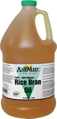 Rice Bran Oil Gallon (90422) -Peazz Pet