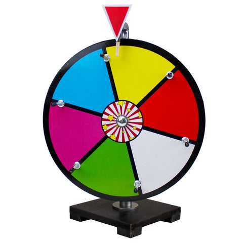 "Brybelly GPRZ-001 12"" Color Dry Erase Prize Wheel - Peazz Toys"