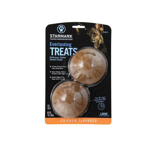 StarMark TCETLC Everlasting Treats Large Chicken 2 pack
