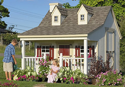 11 x 8 Pennfield Cottage Panelized Kit - Peazz.com