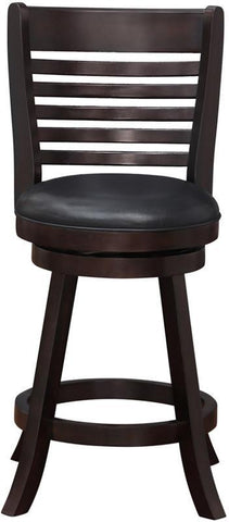 "Boraam 63624 24"" Tierra Swivel Counter Stool - BarstoolDirect.com - 1"
