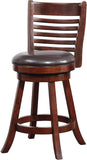 "Boraam 63724 24"" Tierra Swivel Counter Stool - BarstoolDirect.com - 2"