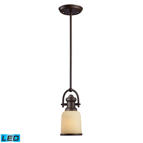 ELK Lighting 66171-1-LED Brooksdale Collection Oiled Bronze Finish - PeazzLighting