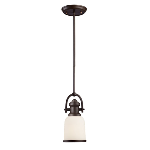 ELK Lighting 66671-1 Brooksdale Collection Oiled Bronze Finish - PeazzLighting