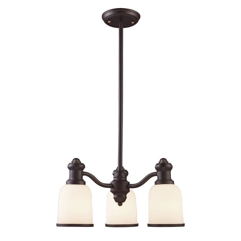 ELK Lighting 66672-3 Brooksdale Collection Oiled Bronze Finish - PeazzLighting