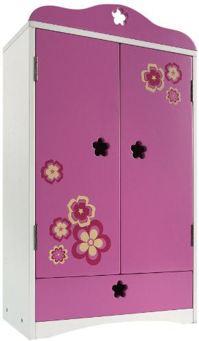 "Madame Alexander Favorite Friends Wood Armoire for 18"" Dolls"