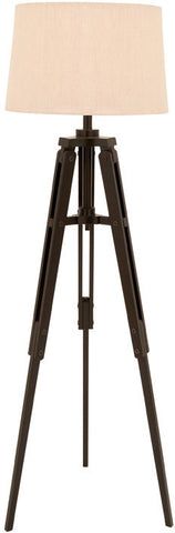 Benzara 67677 Old World Floor Lamp With Tripod From Nostalgic Silent Film Era