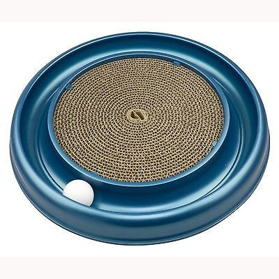 "Bergan Turbo Scratcher Cat Toy 16"" x 16"" x 1.88"" BER-70128"