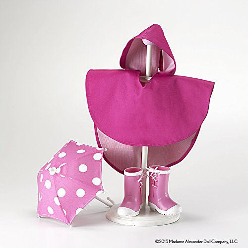 Madame Alexander 70485 Rain Accessories Doll