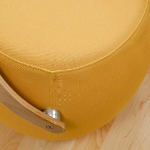 Mod Made MM-SW10001-YELLOW Bucket Stool Chair with Handle
