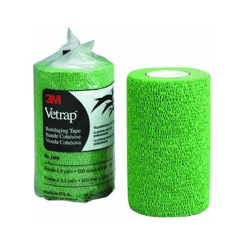 "3M Vetrap Bandage Tape, 2"" x 5 Yard Roll, Green - Peazz Pet"