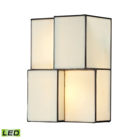 ELK Lighting 72060-2-LED Cubist Collection Brushed Nickel Finish - PeazzLighting