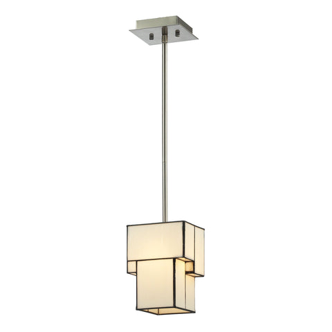 ELK Lighting 72062-1 Cubist Collection Brushed Nickel Finish - PeazzLighting