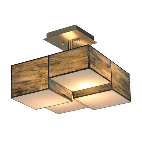ELK Lighting 72071-2 Cubist Collection Brushed Nickel Finish - PeazzLighting